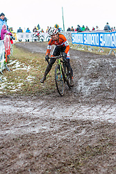 Sanne van Paassen (NED), Women Elite, Cyclo-cross World Championships Tabor, Czech Republic, 31 January 2015, Photo by Pim Nijland / PelotonPhotos.com