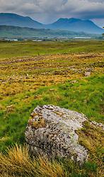 Storm clouds gathering over Rannoch Moor, Highlands of Scotland<br /> <br /> (c) Andrew Wilson   Edinburgh Elite media