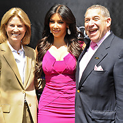 Greta Van Susteren, Kim Kardashian and Ted Greenberg
