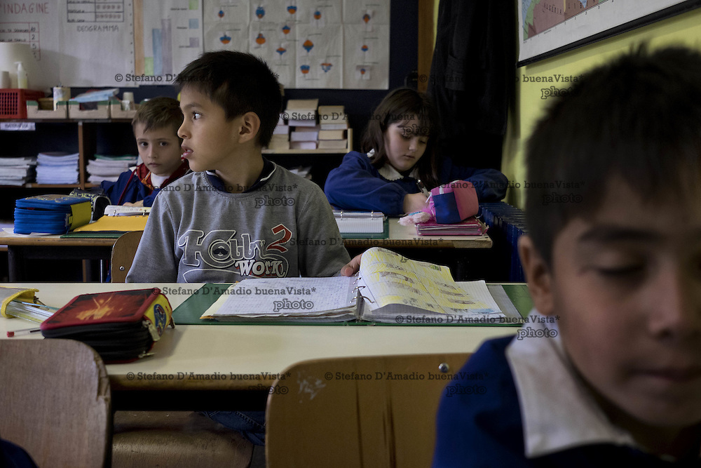 studenti in classe<br /> <br /> Students in classroom