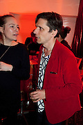 JEREMY DELLER, The ICA's Psychedelica Gala Fundraising party. Institute of Contemporary Arts. The Mall. London. 29 March 2011. -DO NOT ARCHIVE-© Copyright Photograph by Dafydd Jones. 248 Clapham Rd. London SW9 0PZ. Tel 0207 820 0771. www.dafjones.com.