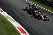September 3-5, 2015 - Italian Grand Prix at Monza: Romain Grosjean (FRA), Lotus