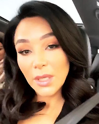 """Verona Pooth releases a photo on Instagram with the following caption: """"... auf nach Frankfurt zur iPuro Relaunch Party!!! \ud83e\udd42\ud83c\udf7e\ud83c\udfb6 @asalsahin \ud83d\udc8b @ipuro_de #myipuro \u270c\ud83c\udffd"""". Photo Credit: Instagram *** No USA Distribution *** For Editorial Use Only *** Not to be Published in Books or Photo Books ***  Please note: Fees charged by the agency are for the agency's services only, and do not, nor are they intended to, convey to the user any ownership of Copyright or License in the material. The agency does not claim any ownership including but not limited to Copyright or License in the attached material. By publishing this material you expressly agree to indemnify and to hold the agency and its directors, shareholders and employees harmless from any loss, claims, damages, demands, expenses (including legal fees), or any causes of action or allegation against the agency arising out of or connected in any way with publication of the material."""