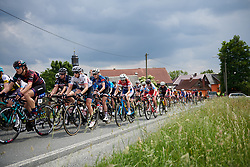 Martina Ritter (AUT) in the bunch at Lotto Thuringen Ladies Tour 2018 - Stage 3, a 131 km road race starting and finishing in Schleiz, Germany on May 30, 2018. Photo by Sean Robinson/Velofocus.com