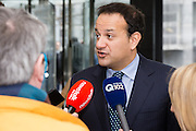 Leo Varadkar, TD - with media