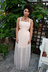 LIANNE LA HAVAS attending the Warner Bros. & Esquire Summer Party held at Shoreditch House, Ebor Street, London E1 on 18th July 2013.
