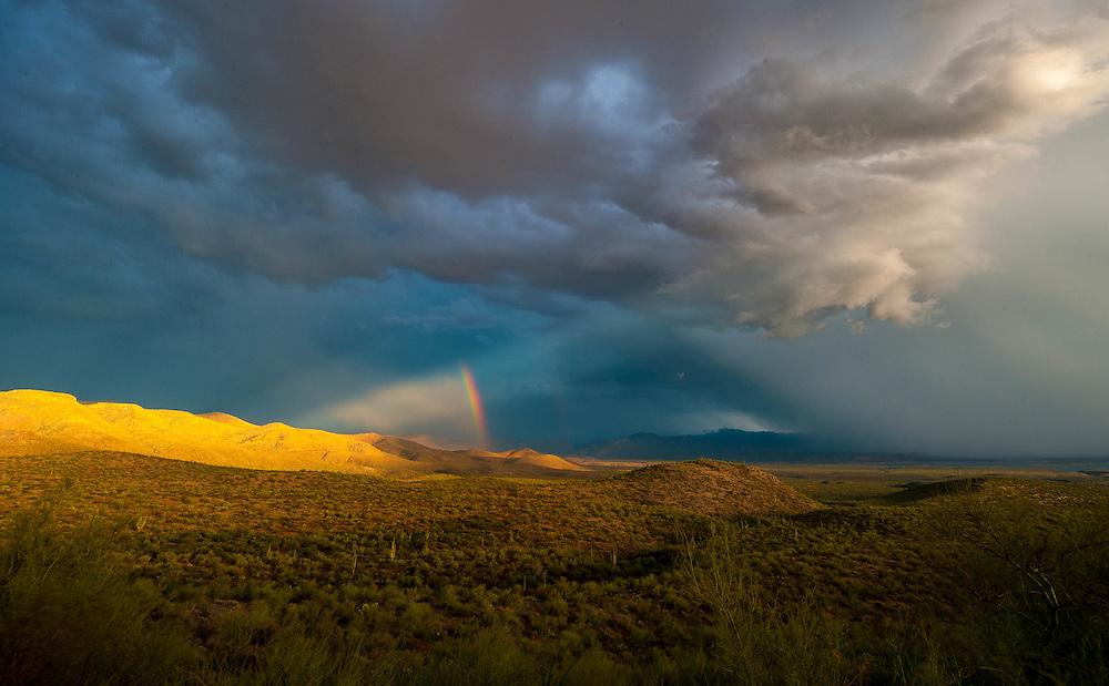 Tonto Basin Rainbow