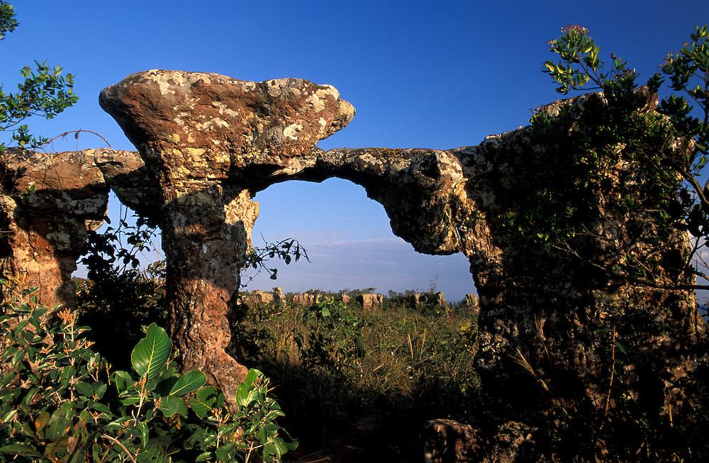 Cidade de Pedra, Chapada dos Guimares near Cuiaba, Mato Grosso, Brazil