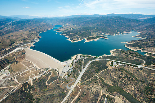 Castaic Lake And Dam Were Constructed Between 1965 1974, To Provide  Emergency Storage During