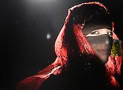 """Revolution"" by Amira Al Sharif. Yemeni woman in traditional clothing in Sana'a."