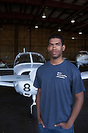 Gavin Whitehead is a freshman aviation student at the Russ College of Engineering and Technology