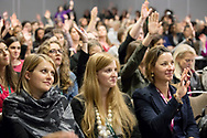 Booth Women Connect 2017 conference at the Hyatt Regency Chicago <br /> <br /> Breakout Session - &quot;You're a Threat - Own It&quot;<br /> <br /> (photo by Anne Ryan)