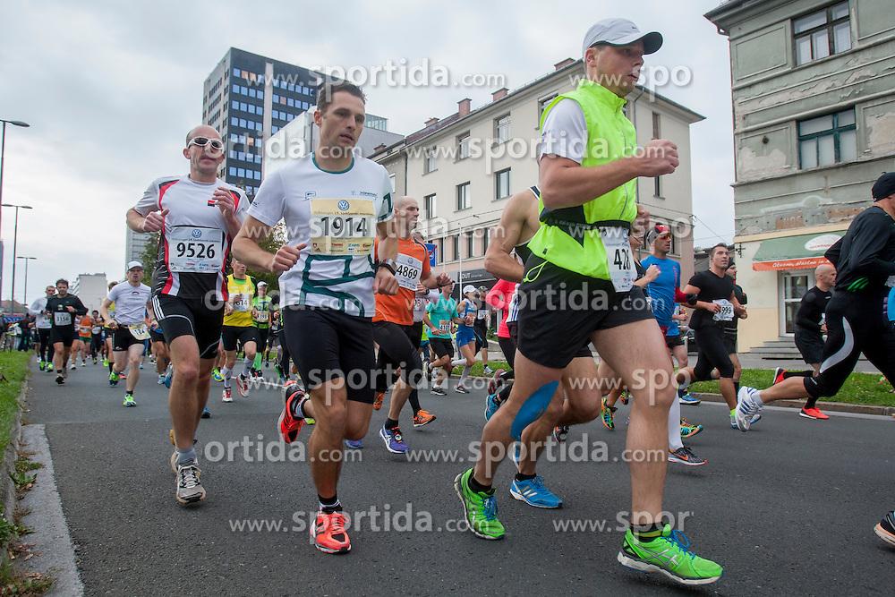 Iztok Omejc of Slovenia during 19th Ljubljana Marathon 2014 on October 26, 2014 in Ljubljana, Slovenia. Photo by Urban Urbanc / Sportida.com