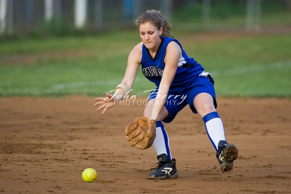 MCHS Varsity Softball .vs Manassas Park .May 12, 2006