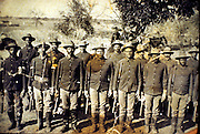 Seminole Negro Indian Scouts protected the Texas border from Comanche and Apache raiders.  The Buffalo Soldiers earned praise from the highest ranks.
