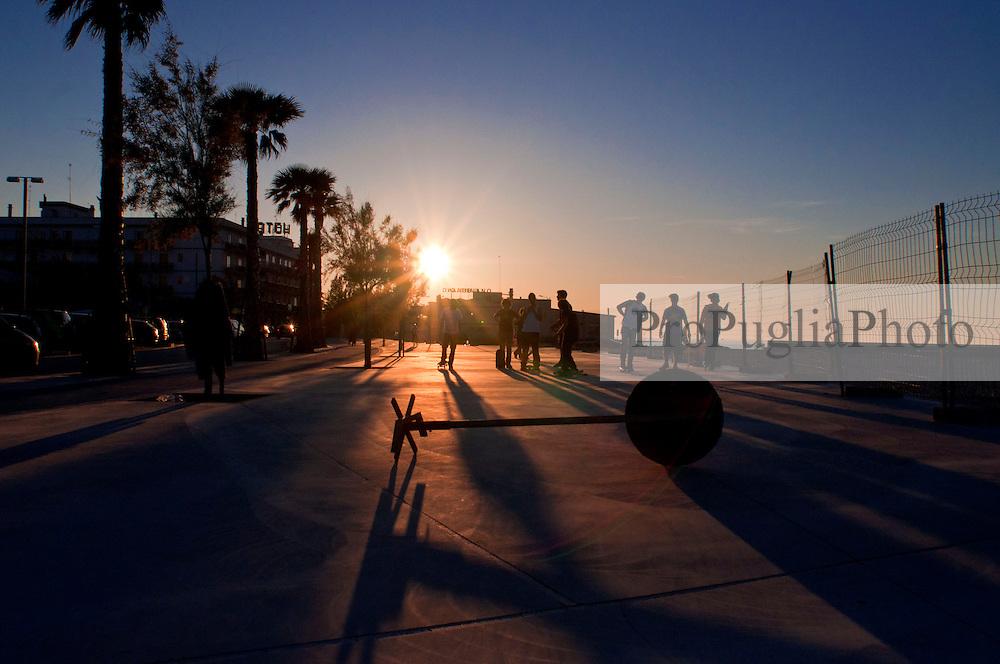 Mola di Bari - skaters