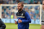 Sheffield Wednesday forward Jordan Rhodes (7)  during the EFL Sky Bet Championship match between Sheffield Wednesday and Sheffield Utd at Hillsborough, Sheffield, England on 24 September 2017. Photo by Adam Rivers.