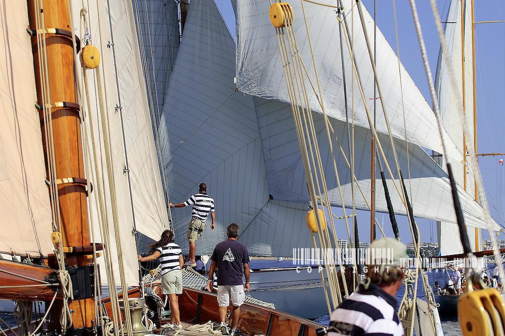 Onboard Lulworth-Régates Royales de Cannes 2006