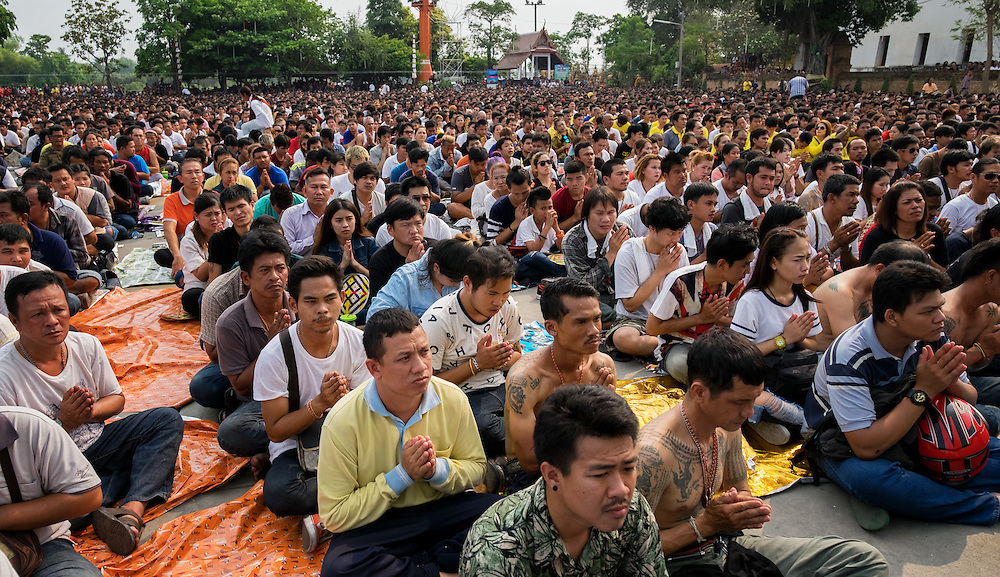 Wai Khru & Tattoo Festival at Wat Bang Phra in Chaisi, Nakhon Pathom Thailand PHOTO BY LEE CRAKER
