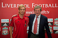 100813 Liverpool sign Christian Poulsen