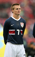 Chris Rolfe, of the United States, makes his first national team start as the U.S. debuts their new uniforms on Sunday, February 19th, 2005 at Pizza Hut Park in Frisco, Texas. The United States Men's National Team defeated Guatemala 4-0 in a men's international friendly.
