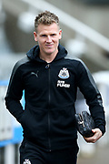 Matt Ritchie (#11) of Newcastle United arrives ahead of the Premier League match between Newcastle United and Huddersfield Town at St. James's Park, Newcastle, England on 31 March 2018. Picture by Craig Doyle.