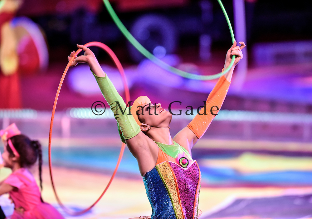 Scenes from the shrine circus on Monday at the Corn Palace. (Matt Gade/Republic)