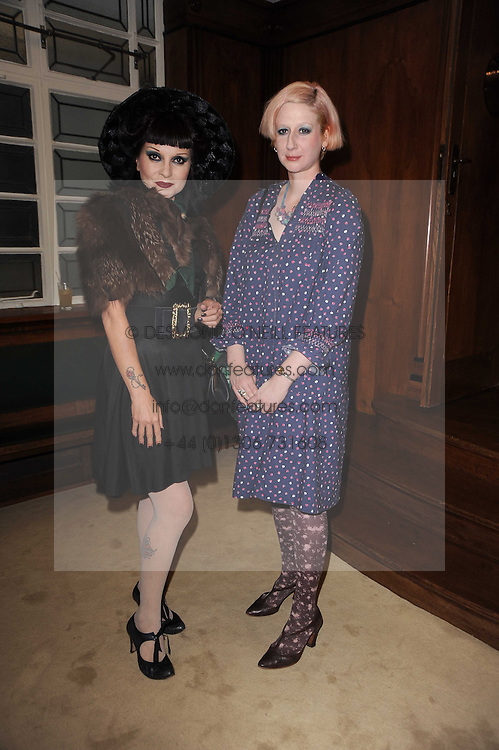 Left to right, PRINCESS JULIA and JULIE VERHOEVEN at a screening of a short film directed by Willem Jaspert and Stephen Langmanis to celebrate the launch of Bella Freud and Susie Bick's first design collaboration held at Town Hall, 8 Patriot Square, London E2 on 6th September 2010.