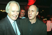 George Martin,  Pete Townshend