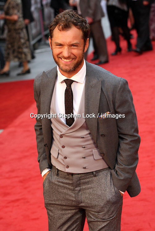 Jude Law  arriving  for the Anna Karenina premiere in London,  Tuesday 4th September 2012  Photo by: Stephen Lock / i-Images<br /> File photo - Jude Law NOTW Hacking.<br /> Jude Law is told relative sold story of girlfriend Sienna Miller's affair with Daniel Craig. Picture filed Tuesday, 28th January 2014.