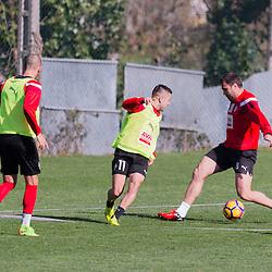 Domingo a 26 de Febrero del 2017,entrenamiento del Eibar en Atxabalpe