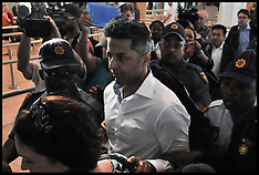DEC 09 2014 Dewani leaves South Africa