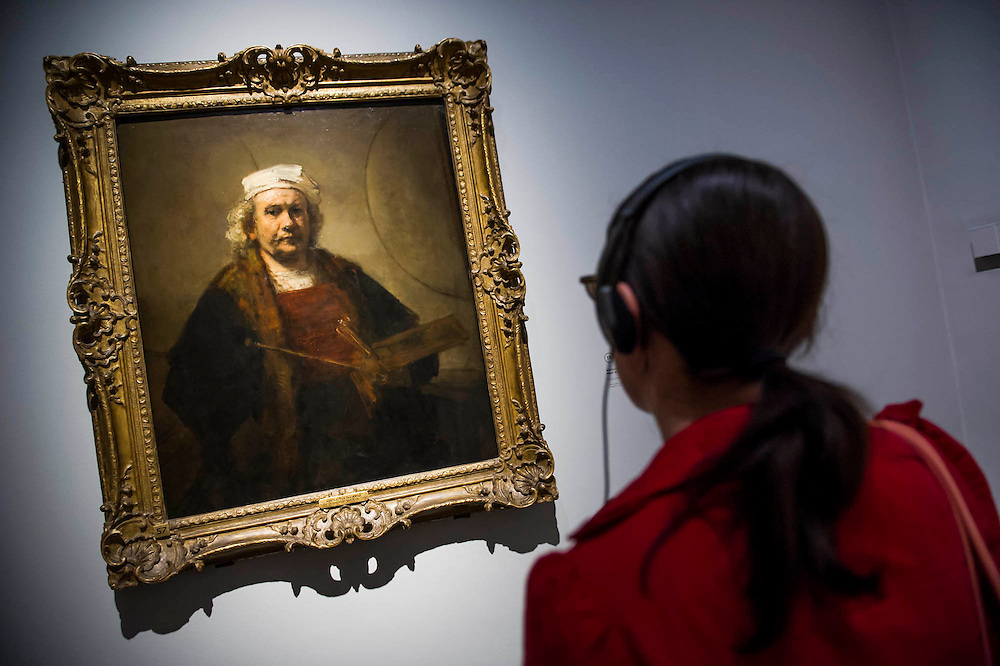 Self Portrait - Rembrandt: The Late Works, a new  exhibition sponsored by Shell - the first ever in-depth exploration of Rembrandt's final years of painting. It features 'unprecedented' loans from around the world and is an opportunity to experience the 'passion, emotion and innovation' of the great master of the Dutch Golden Age.  The exhibition runs from 15 October 2014 - 18 January 2015