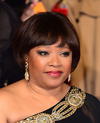 Zindzi Mandela attends The Royal Film Performance of Mandela Loing Walk To Freedom Film Premiere at Odeon Leicester Square, London, United Kingdom. Thursday, 5th December 2013. Picture by Nils Jorgensen / i-Images