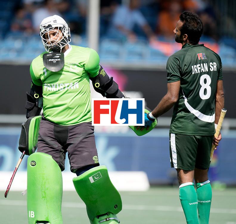 BREDA - Rabobank Hockey Champions Trophy<br /> Argentina - Pakistan<br /> Photo: Imran Butt.<br /> COPYRIGHT WORLDSPORTPICS FRANK UIJLENBROEK