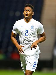 Joe Gomez of England U21  - Mandatory byline: Matt McNulty/JMP - 07966386802 - 03/09/2015 - FOOTBALL - Deepdale Stadium -Preston,England - England U21 v USA U23 - U21 International