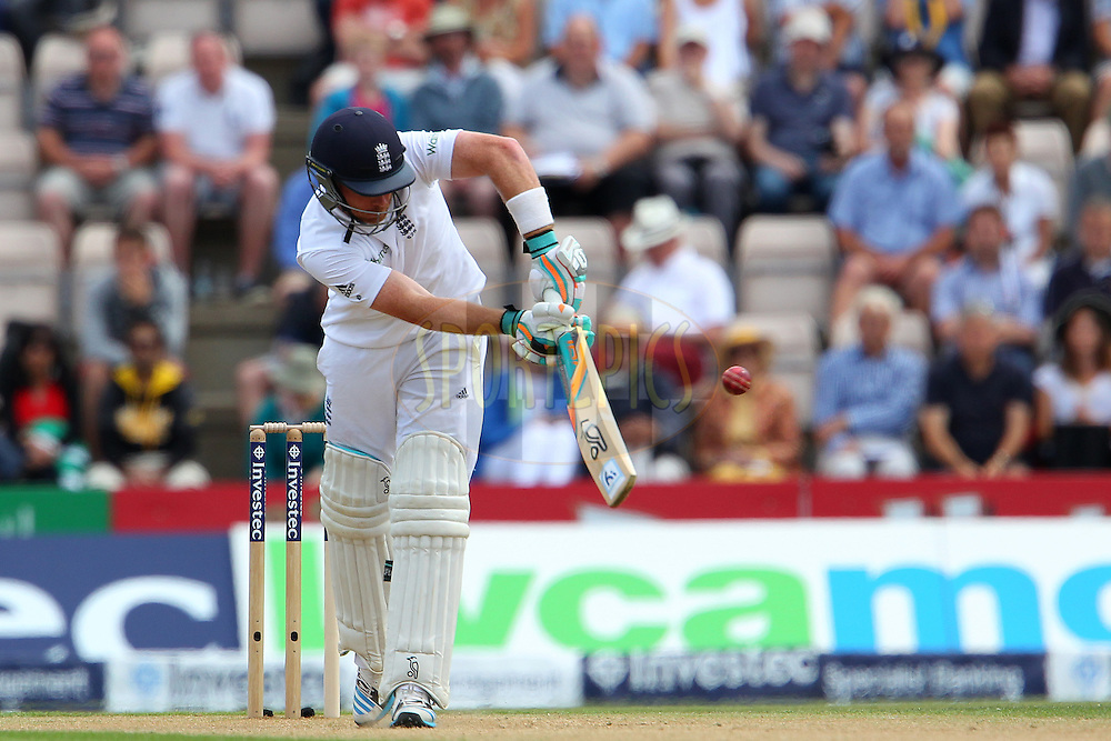 Ian Bell of England during day two of the third Investec Test Match between England and India held at The Ageas Bowl cricket ground in Southampton, England on the 28th July 2014<br /> <br /> Photo by Ron Gaunt / SPORTZPICS/ BCCI