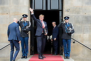 Koningspaar biedt Corps Diplomatique diner aan in het Paleis op de dam /// Royal Couple offers Corps Diplomatique dinner in the Palace on the dam<br /> <br /> Op de foto / On the photo:  Koning Willem Alexander / King Willem Alexander