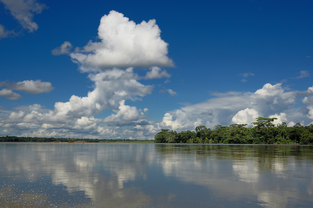 Anangurocha Lake, Lagoon, at Napo Wildlife Center, Rainforest, Amazonia, Ecuador