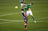 Loic Perrin - 28.02.2015 - Toulouse / Saint Etienne - 27eme journee de Ligue 1 -<br />