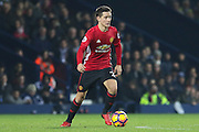 Ander Herrera Midfielder of Manchester United during the Premier League match between West Bromwich Albion and Manchester United at The Hawthorns, West Bromwich, England on 17 December 2016. Photo by Phil Duncan.