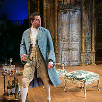 The Rehearsal by Jean Anouilh;<br /> Directed by Jeremy Sams;<br /> Edward Bennett (as Hero);<br /> Minerva Theatre, Chichester;<br /> 13 May 2015