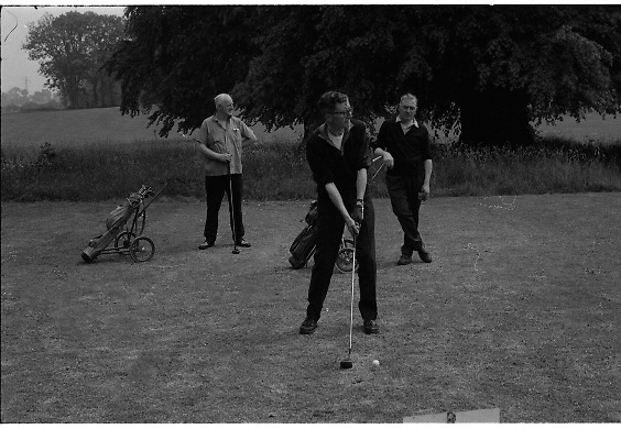 Golf Being Filmed at Portmarnock - Special for Bord Failte<br />