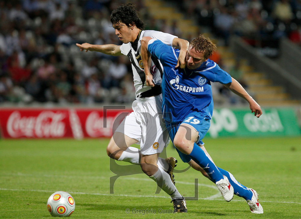 Europa League, Madeira stadium.Nacional vs FC Zenit.Felipe Lopes and Kornilrnko.Foto Gregorio Cunha