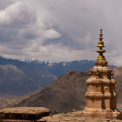 Stupas, Gompas, and temples can be found all over Ladakh.