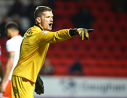 December 23, 2017 - London, United Kingdom - Blackpool's Ben Williams.during Sky Bet  League One match between Charlton Athletic  against Blackpool at The Valley Stadium London on 23 Dec  2017  (Credit Image: © Kieran Galvin/NurPhoto via ZUMA Press)
