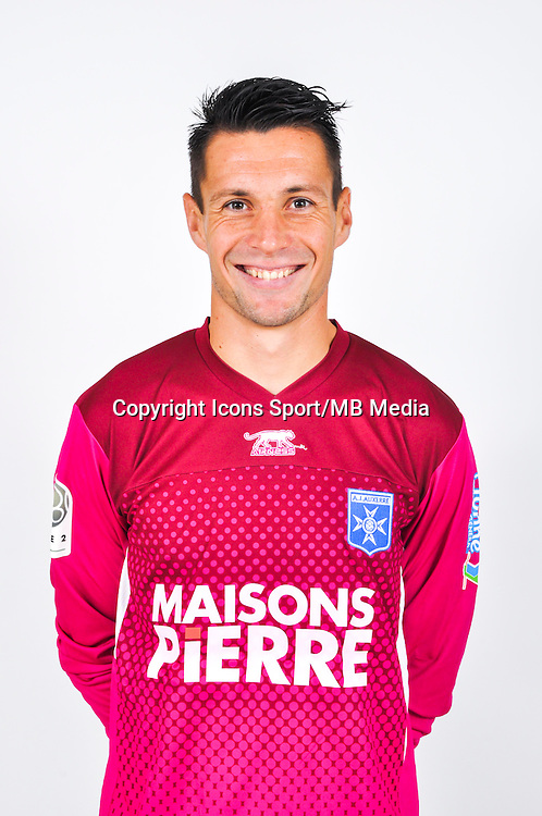 Olivier SORIN  - 18.09.2013 - Photo Officielle - Auxerre -<br /> Photo : Icon Sport