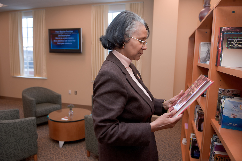 Day in the life of Baker Center...Marlene Jenkins, Women's Center