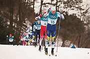 PYEONGCHANG-GUN, SOUTH KOREA - FEBRUARY 11: Daniel Rickardsson of Sweden during the Mens Skiathlon 15km+15km Cross-Country Skiing on day two of the PyeongChang 2018 Winter Olympic Games  at Alpensia Cross-Country Centre on February 11 in Pyeongchang-gun, South Korea. Photo by Nils Petter Nilsson/Ombrello               ***BETALBILD***