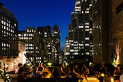 The Refinery Hotel rooftop in New York City